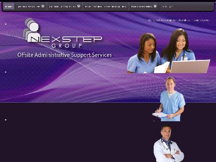 Nexstep Group Ltd (780-571-1505) - Website thumbnail - http://www.nexstepgroup.ca