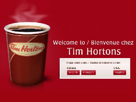 Tim Hortons - Montr&eacute;al (514-871-1509) - Onglet de site Web - http://www.timhortons.com