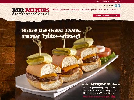 Mr Mike's Steakhouse & Bar (780-538-9378) - Onglet de site Web - http://www.mrmikes.ca