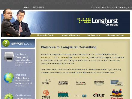 Longhurst Consulting (403-406-0280) - Website thumbnail - http://www.longhurstconsulting.com