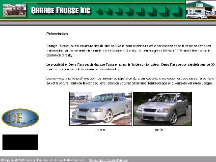 Garage Fausse Inc (450-372-3663) - Onglet de site Web - http://www.garagefausse.com