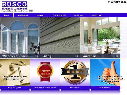 Rusco Industries Calgary Ltd (403-213-9108) - Onglet de site Web - http://www.ruscoindustries.com