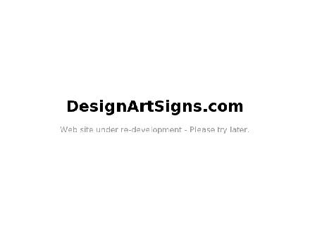 Design Art Signs (506-648-1893) - Onglet de site Web - http://www.designartsigns.com