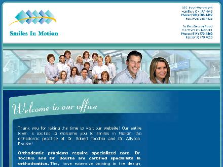 Smiles In Motion (905-388-1427) - Website thumbnail - http://www.braces.ca