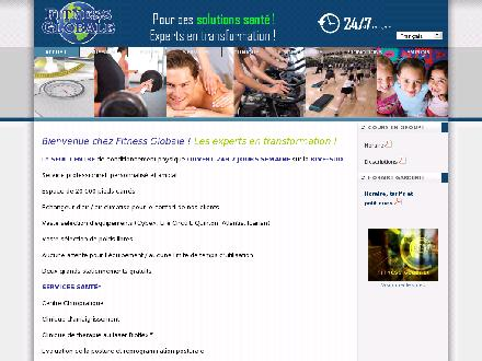 Fitness Globale (450-445-2080) - Onglet de site Web - http://www.fitnessglobale.com