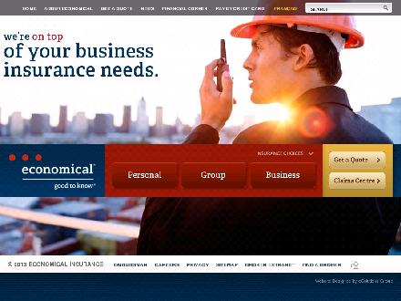 The Economical Insurance Group (416-590-9040) - Onglet de site Web - http://www.economicalinsurance.com