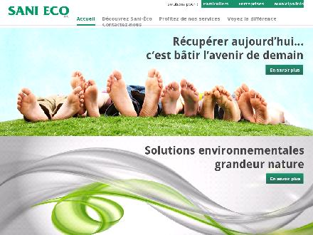 Sani-Eco Inc (450-777-4977) - Website thumbnail - http://www.sani-eco.com