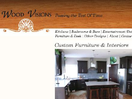 Wood Visions Inc (403-580-8412) - Website thumbnail - http://www.woodvisions.ca
