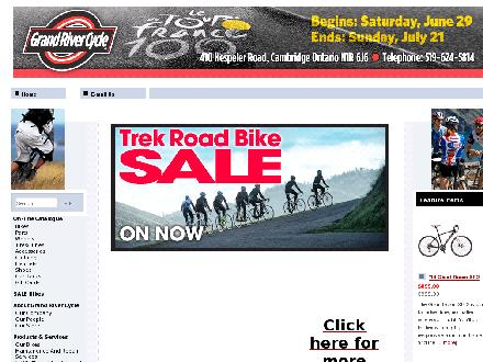 Grand River Cycle (519-624-5814) - Website thumbnail - http://www.grandrivercycle.com