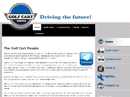 The Golf Cart People (780-430-0400) - Website thumbnail - http://www.golfcartpeople.com
