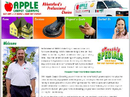 Apple Carpet Cleaning BC Ltd (604-557-5671) - Website thumbnail - http://www.applecarpetcleaning.ca