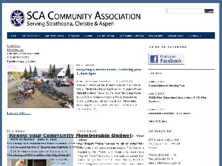 Strathcona Christie Aspen Community Association (403-249-1138) - Website thumbnail - http://www.scacalgary.ca