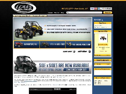 Lous' Small Engines Ltd (867-872-2777) - Website thumbnail - http://www.loussmallengines.ca