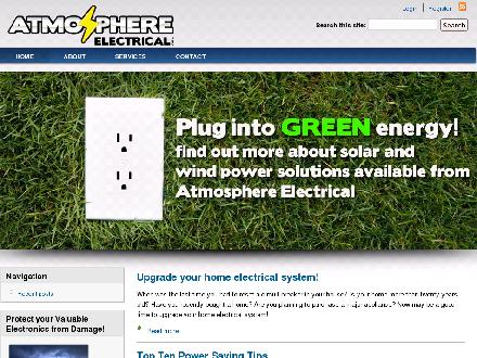 Atmosphere Electrical Inc (902-890-1700) - Website thumbnail - http://www.atmosphereelectrical.ca