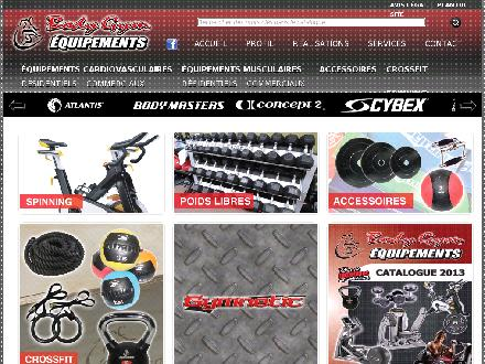 Body Gym Equipements Inc (418-831-9299) - Onglet de site Web - http://www.bodygym.ca