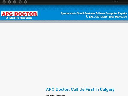 APC Doctor (403-798-0809) - Website thumbnail - http://apcdr.ca
