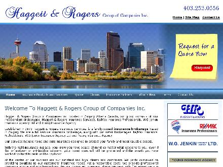 Haggett & Rogers Insurance Services Ltd (403-253-0556) - Website thumbnail - http://www.insuranceagencies.com