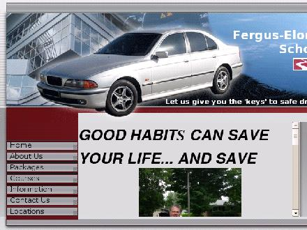 Fergus Elora Driving School (519-787-9300) - Onglet de site Web - http://www.ferguseloradrivingschool.com