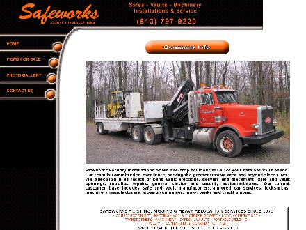 Safeworks Bin and Container Rental (613-797-9220) - Onglet de site Web - http://www.safeworks.net