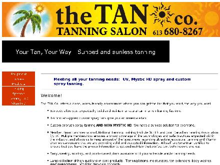The Tan Co (613-680-8267) - Onglet de site Web - http://www.tan-co.ca