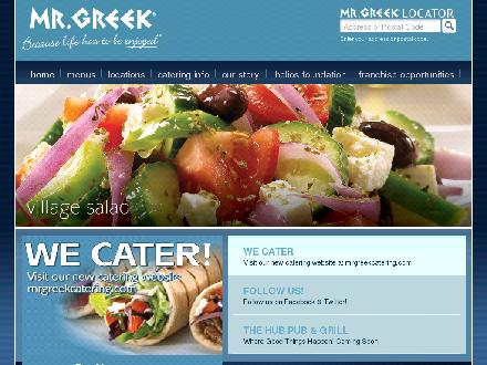 Mrgreek.com - Onglet de site Web - http://www.mrgreek.com