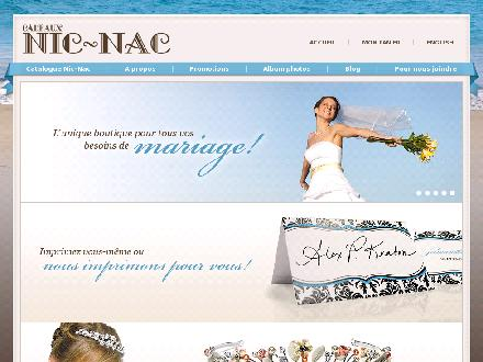 Cadeaux Nic-Nac (514-272-8788) - Website thumbnail - http://www.cadeauxnicnac.com