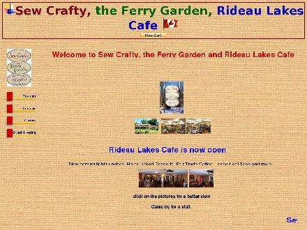 Sew Crafty (613-264-1547) - Website thumbnail - http://www.sewcrafty.ca
