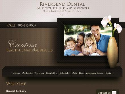 Pierce Tim Dr & Associates (1-888-446-8050) - Onglet de site Web - http://www.riverbenddental.ca