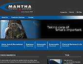 Mantha Insurance Brokers Ltd (613-746-1450) - Website thumbnail - http://www.manthainsurance.com