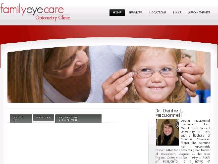 Family Eye Care Clinic (709-634-7900) - Onglet de site Web - http://www.familyeyecareclinic.ca