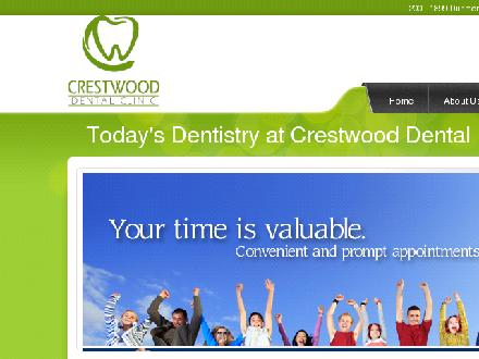 Crestwood Dental Clinic (403-526-0777) - Onglet de site Web - http://crestwooddental.ca