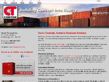 Contor Terminals Inc (1-888-307-0830) - Website thumbnail - http://www.contorterminals.com