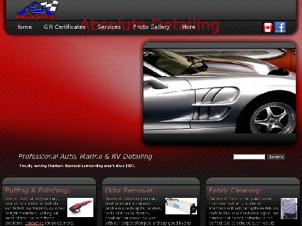 Absolute Detailing (519-354-6106) - Onglet de site Web - http://www.absolutedetailing.com