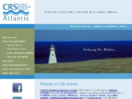 Conflict Resolution Services (CRS) Atlantic (902-892-7867) - Website thumbnail - http://www.crsatlantic.com