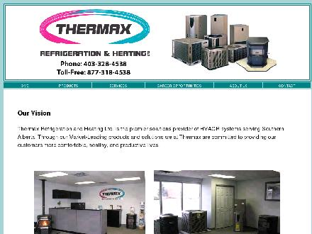 Thermax Refrigeration & Heating Ltd (403-328-4538) - Onglet de site Web - http://www.thermaxrefrigeration.com