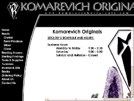 Komarevich Originals Ltd (403-244-3244) - Website thumbnail - http://www.komarevichoriginals.com