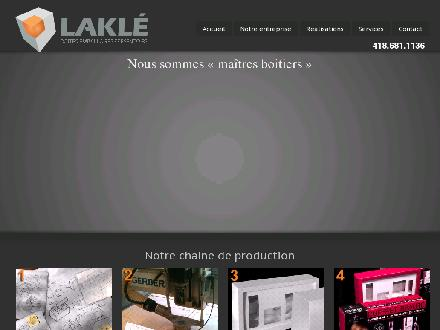 Lakl&eacute; (418-681-1136) - Onglet de site Web - http://www.lakle.com