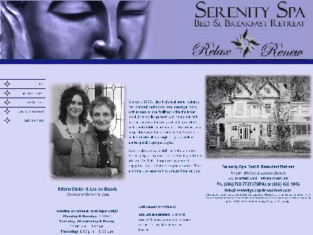 Serenity Spa Bed & Breakfast (306-763-7727) - Onglet de site Web - http://www.serenityspaprincealbert.com