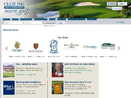 Glen Abbey Golf Club (905-844-1800) - Onglet de site Web - http://www.clublink.ca