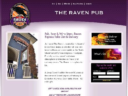 Raven Neighbourhood Pub (604-929-3834) - Website thumbnail - http://www.theravenpub.com