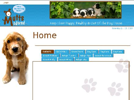 Mutts Adored Inc (780-968-1920) - Onglet de site Web - http://www.muttsadored.com