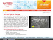 Bartman Plumbing Ltd (905-884-6995) - Onglet de site Web - http://bartmanplumbing.com