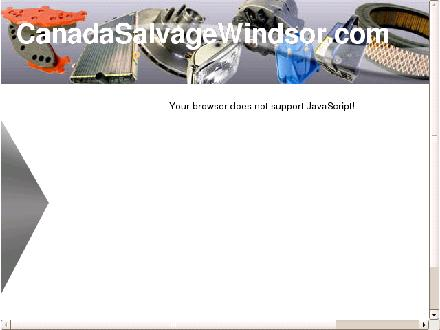 Canada Salvage Co (519-254-5262) - Website thumbnail - http://canadasalvagewindsor.com