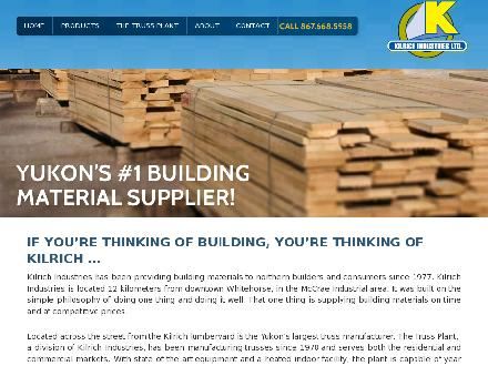 Kilrich Industries Ltd (867-668-5958) - Website thumbnail - http://www.kilrich.ca
