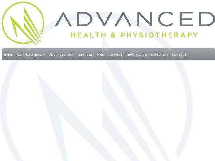 Advanced Health &amp; Physiotherapy (506-800-1958) - Onglet de site Web - http://www.advanced-health.ca