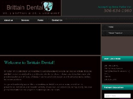 Brittain Dental (506-634-1960) - Website thumbnail - http://www.brittaindental.com