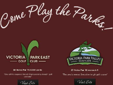 Victoria Park East Golf Club (226-314-0951) - Onglet de site Web - http://www.victoriaparkgolf.com