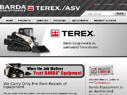 Barda Equipment (780-532-0097) - Onglet de site Web - http://www.bardaequipment.com