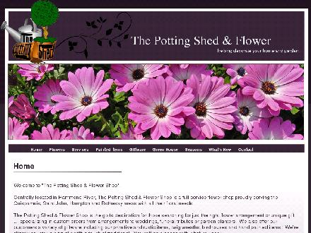 The Potting Shed & Flower Shop (506-849-6206) - Website thumbnail - http://www.thepottingshed.ca