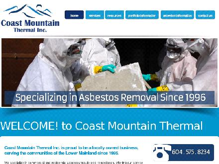 Coast Mountain Thermal Inc (604-575-8234) - Onglet de site Web - http://www.coastmountainthermal.com
